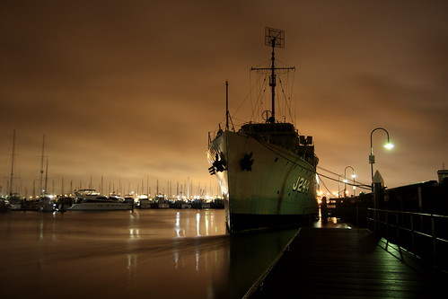the ship at night | by Penelope W