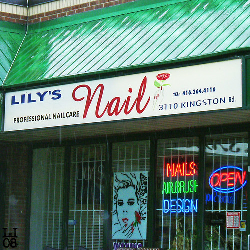 lily's nail | by alphabet soup studio / lenore locken
