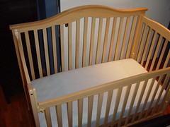 Delta 5in1 crib bed with Simmons Beautyrest mattress Flickr