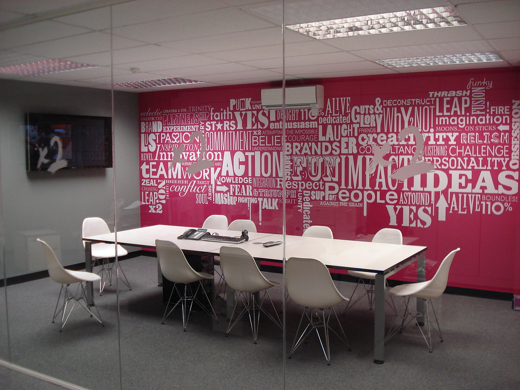 Advertising agency office interior design for Interior design pr agency