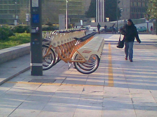 Bike sharing a milano stazione centrale e ora anche a for Mobile milano bike sharing
