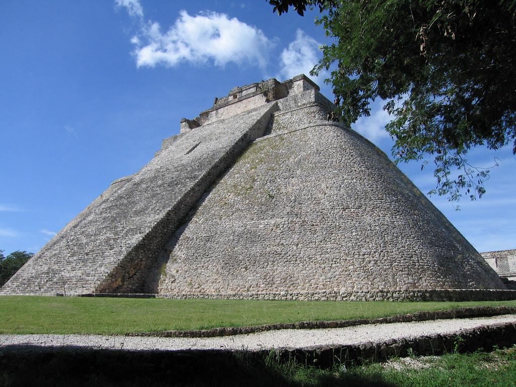 Mayan pyramids of Uxmal