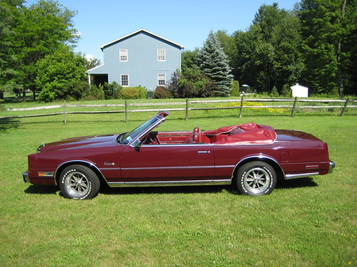 1981 Chrysler Cordoba Convertible This Is A 1981 Global Co Flickr