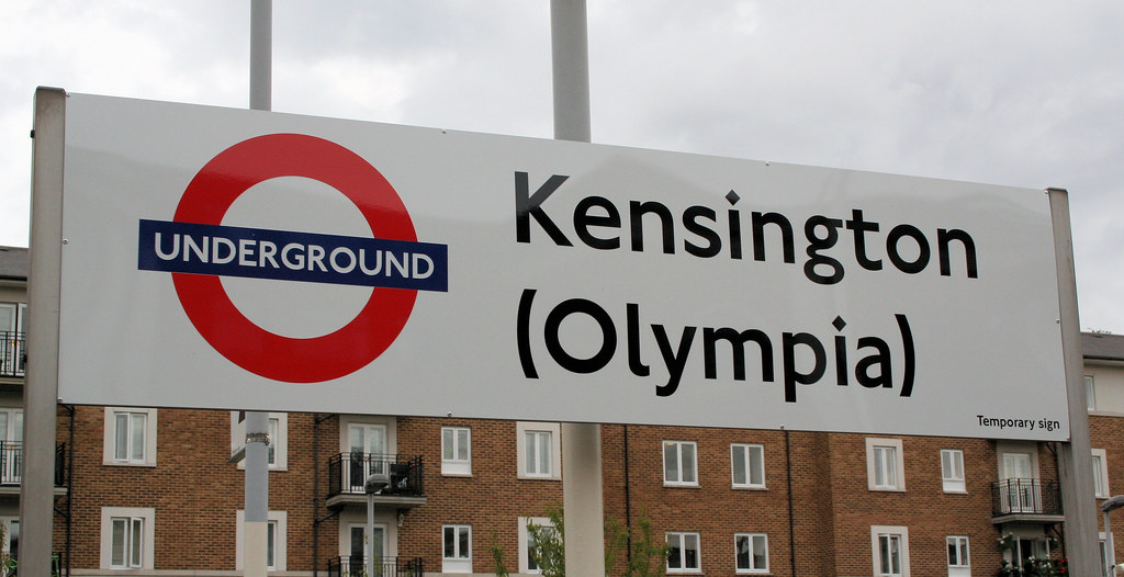 Image result for olympia underground station