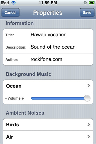 Easy Relax iPhone App | by Daynah.net
