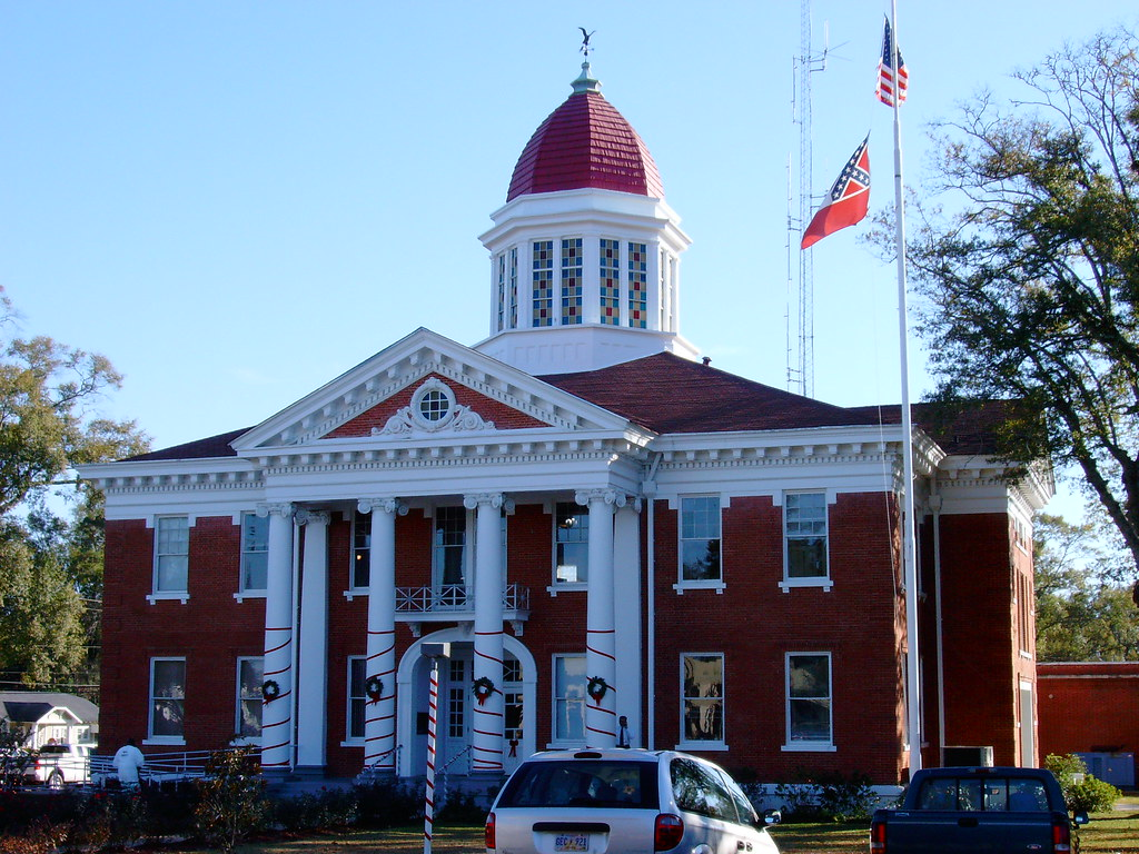 Mississippi george county -  George County Courthouse Lucedale Mississippi By Courthouselover