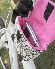 custom top tube tote | by dogwoodlane