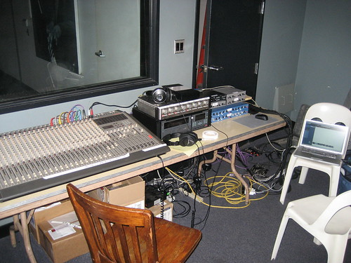 Recording Rig At Jazz Bakery Equipment Involved Tascam