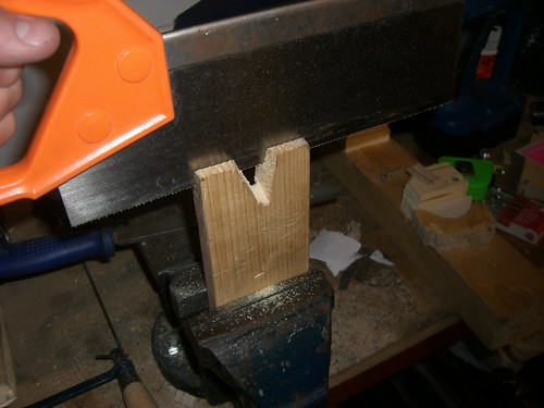 Bench peg modification | by warranty void