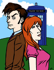 the Doctor and Donna | by j.albright