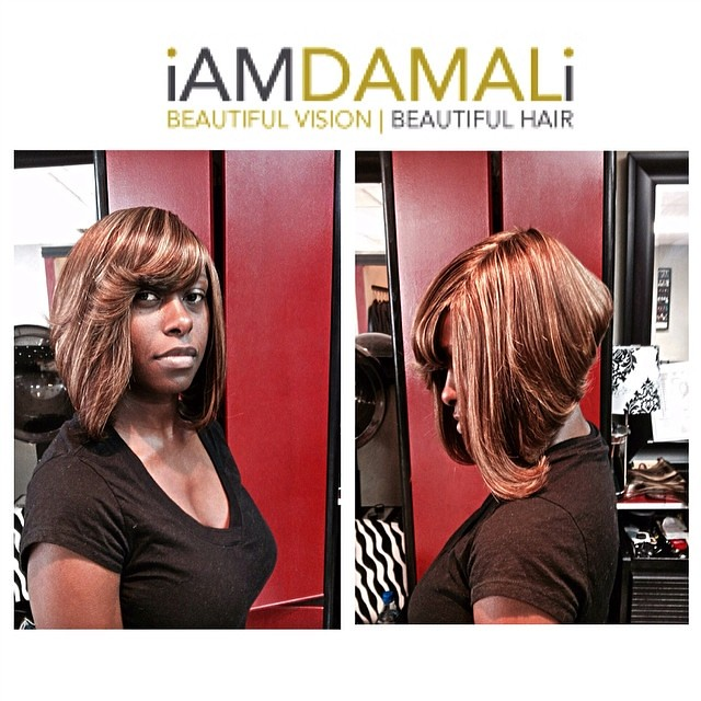 Quick Weave With Remy Duvessa Hair Bob Iamdamali Tampa Flickr