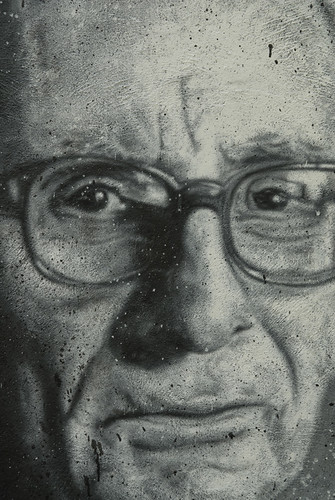 Claude Lévi-Strauss painted portrait _DDC7390.jpg | by Abode of Chaos