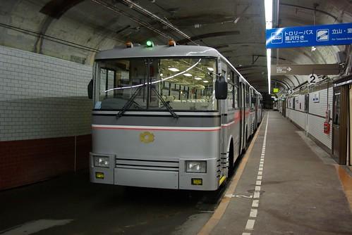 Kanden tunnel trolley bus #1