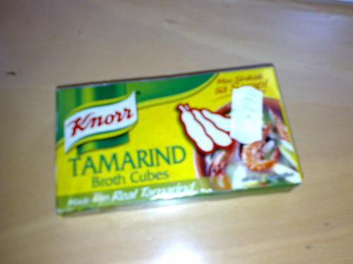 Tamarind stock cubes