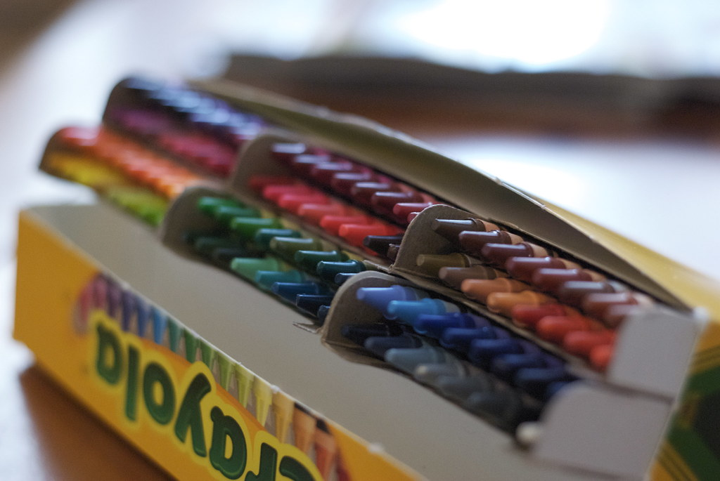crayola crayons 96 pack organized my crayolas by the colou flickr