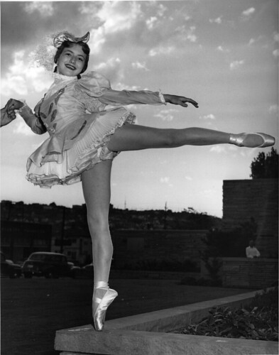 Dancer from Dorothy Fisher Ballet, 1957 | by Seattle Municipal Archives