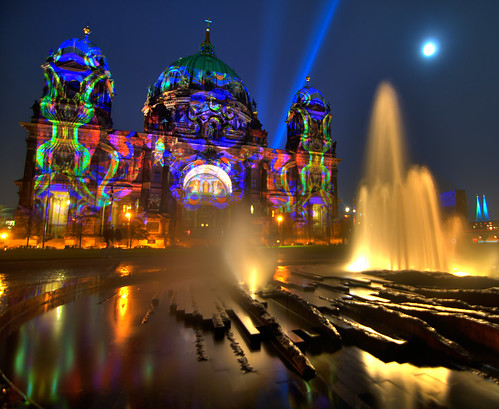Berliner Dom - Berlin, Germany, revisited at Festival of Lights | by Xindaan
