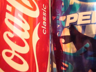 Coke Pepsi Cans | by gongus