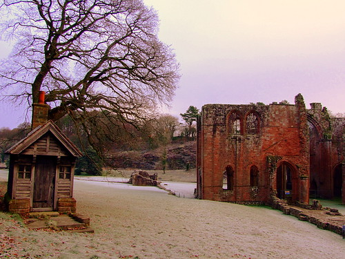 The old ticket house first thing this chilly frosty morning at Furness Abbey | by skittzitilby