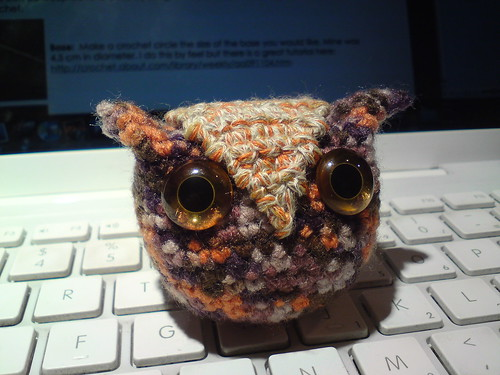 Owlet amigurumi | by clotilde