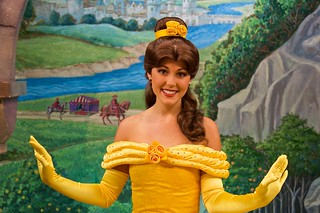 Disneyland Aug 2009 - Meeting Belle | by PeterPanFan