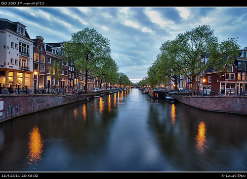 Prinsengracht at dusk | by lsten