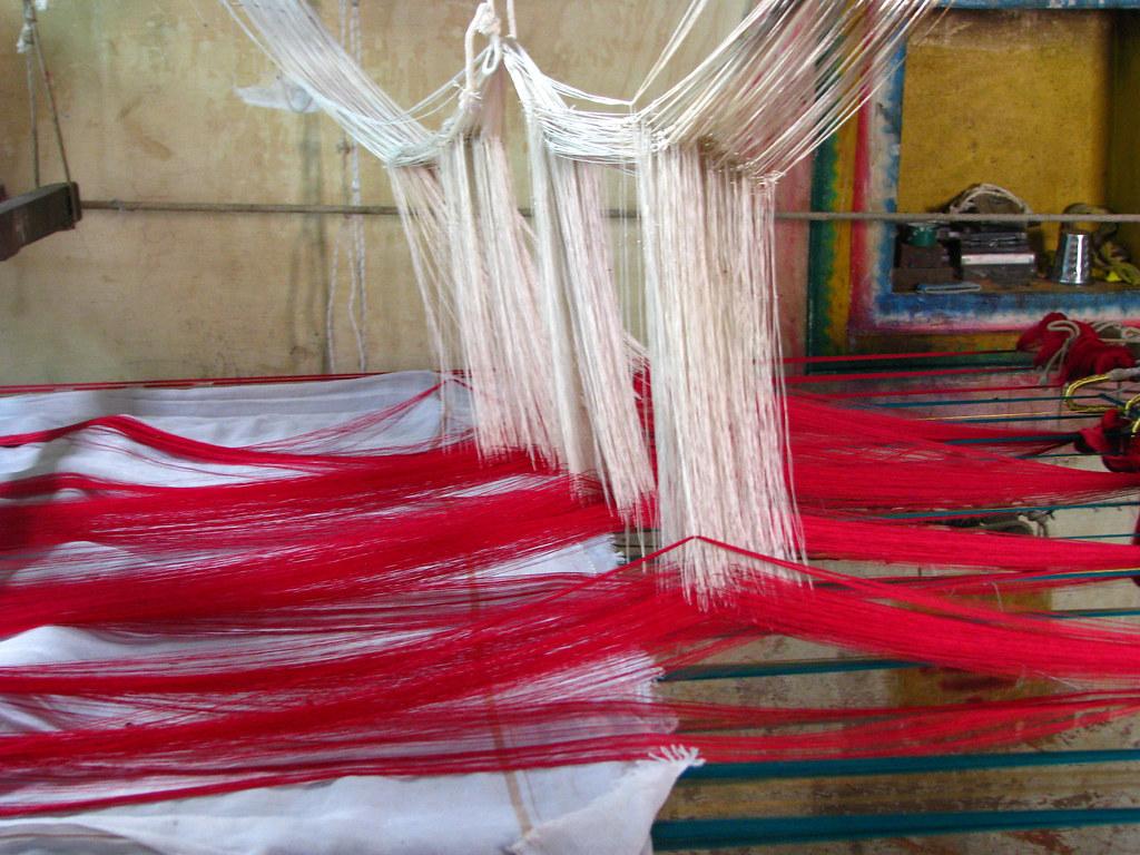 india colours of india silk sari weaving brilliantly c u2026 flickr