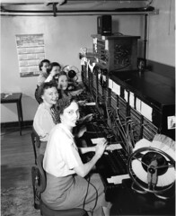 Telephone operators, 1952 | by Seattle Municipal Archives