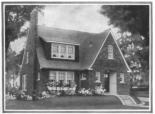 Sears home the belmont english cottage sears kit house for House plan catalogs free