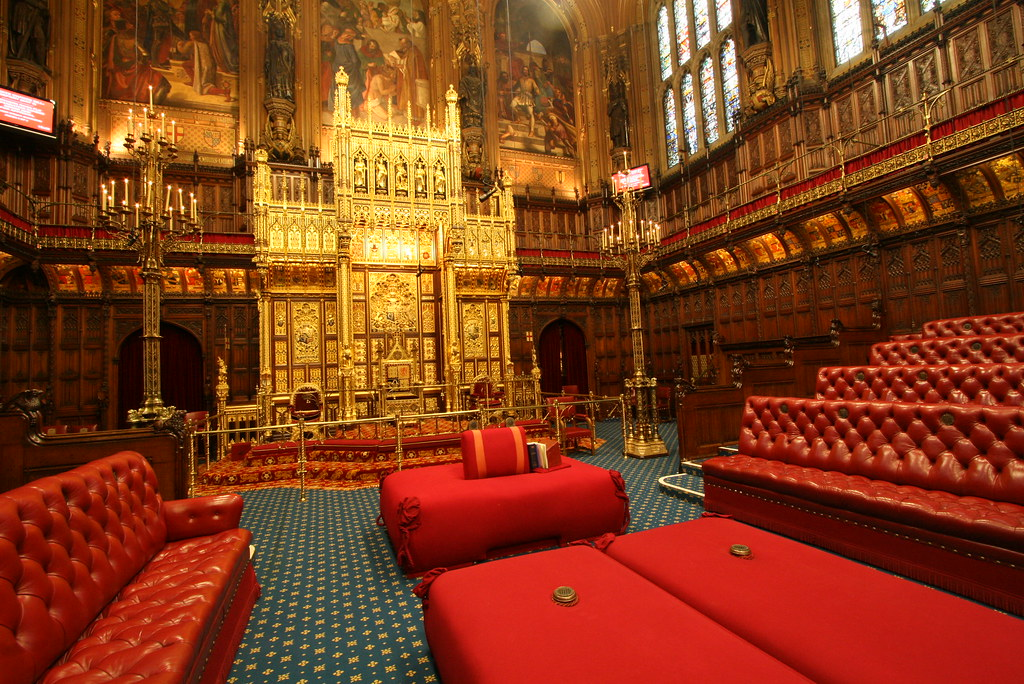 House of Lords Chamber | The Lords acts as a revising chambe… | Flickr