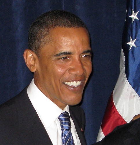Happy Obama | by jurvetson
