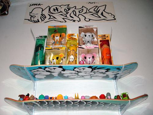 Skateboard Shelf skateboard shelf. simple what to make this weekend a skateboard
