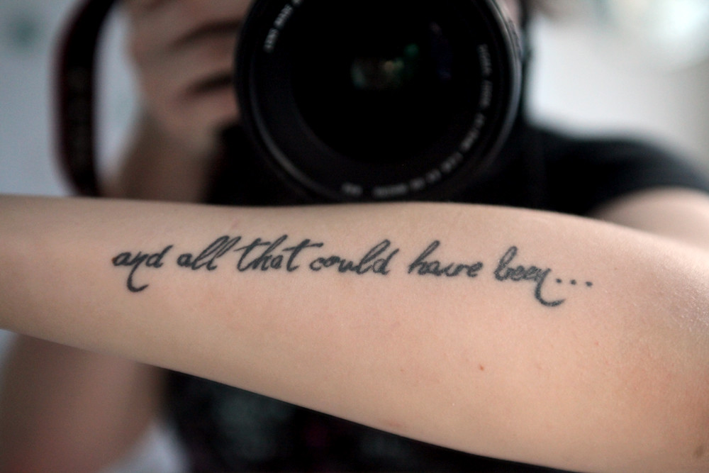 And all that could have been... | My first tattoo! Thanks to… | Flickr