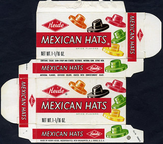 Heide - Mexican Hats candy box - 1970 | by JasonLiebig