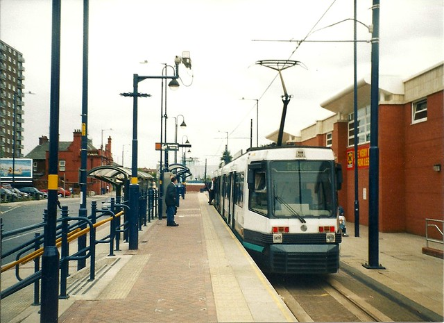 Metrolink Tram, Eccles terminus, College Croft