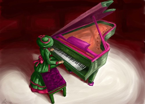 Torley on Piano - awesomelicious art by Wynter Bracken | by ▓▒░ TORLEY ░▒▓