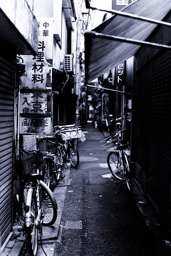 back lane at Koenji | by fragmental scene