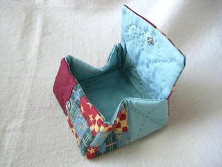 Fabric Box or Coin Purse | by Pearl-incig
