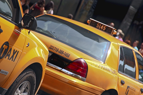 New York.Taxis | by Tomás Fano