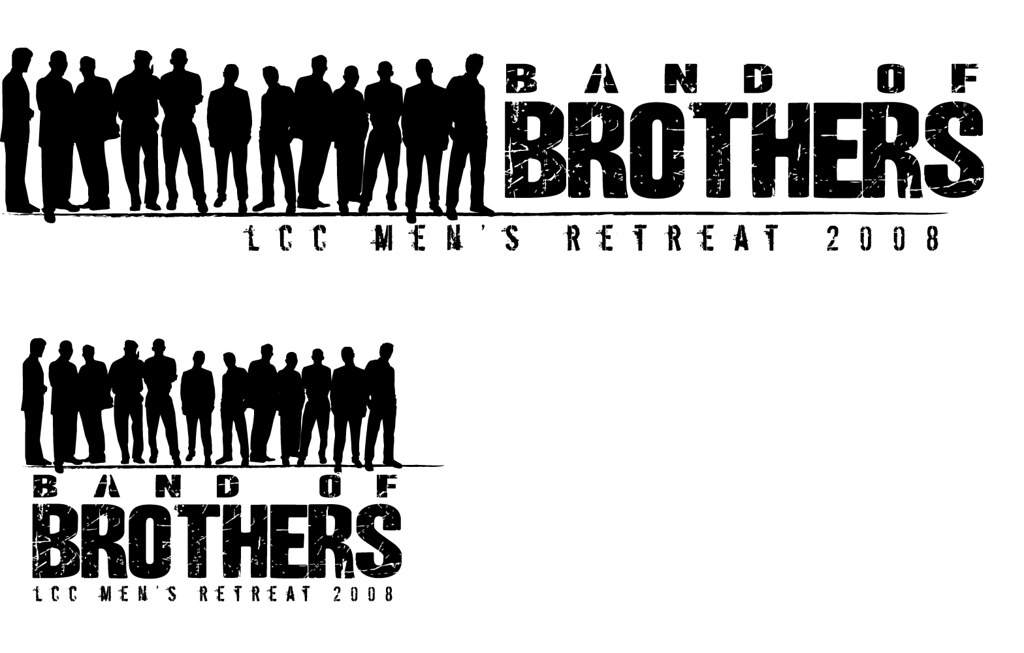 logo - band of brothers | this is a the first draft of a log… | flickr