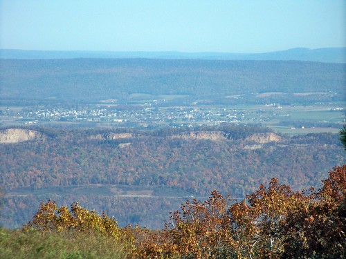 Martinsburg Pa View Of Martinsburg Pa From The Summit