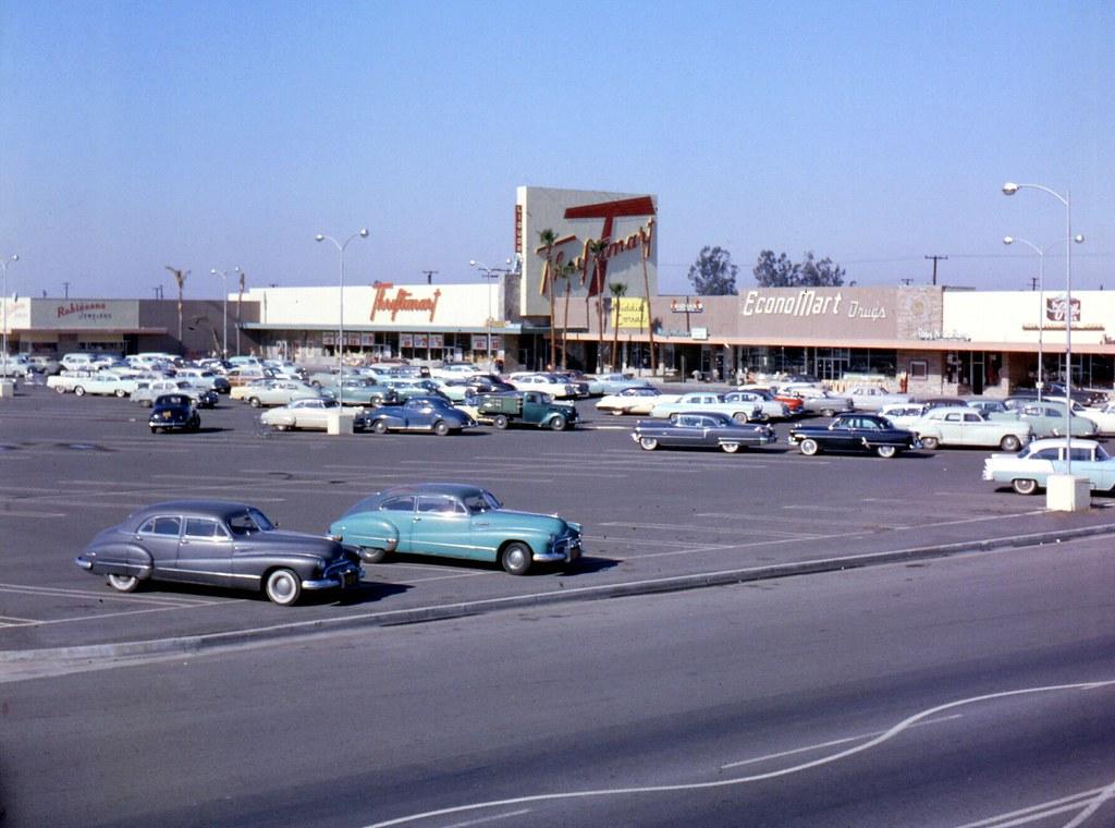 ... Orange County Plaza, Chapman Ave., Garden Grove, 1957 | By Orange County