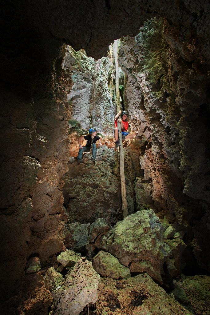 cueva de almeida, entrance 2, isla caja de muertos, reserv… | Flickr
