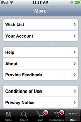 iPhone App: Amazon Mobile | by Daynah.net