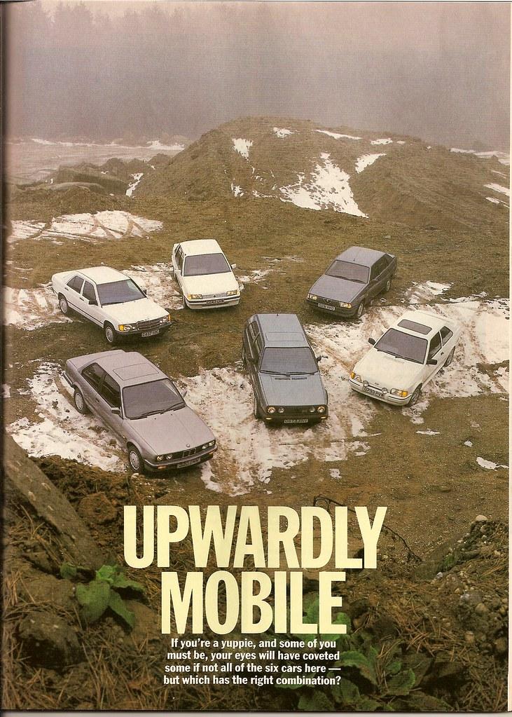 80s Yuppie 6 Car Road Test 1987