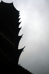 Silhouette of North Temple Pagoda3 [ Bao'en Temple / Suzhou ] | by d'n'c