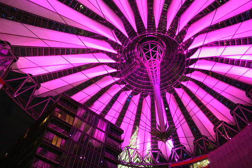 Sony-Center @night | by Haasje