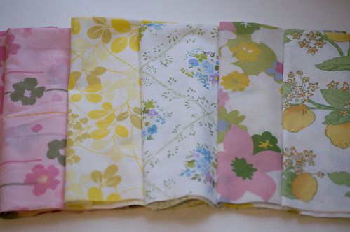 vintage sheets for swap | by jrcraft