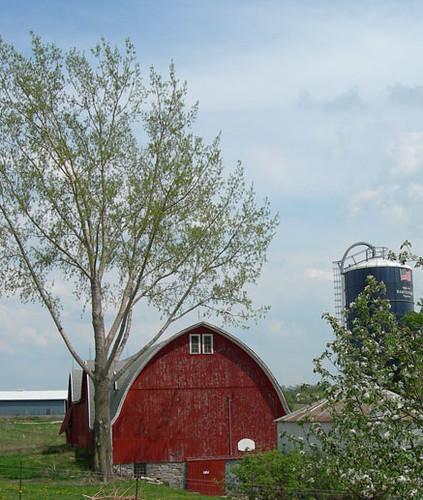 The Three-story Former Dairy Barn