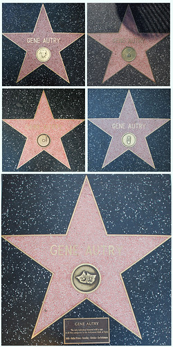 Gene Autry Walk of Fame Quintet | by Floyd B. Bariscale